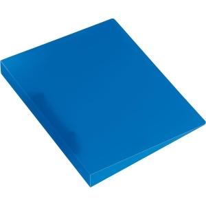 Ringbuch Kolma Easy 0280105 A5, 2-Ring, blau/transparent