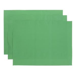 Tischset 30x40 cm, grün, Packung à 500 Stück