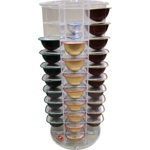 Dispenser für 40 Teekapseln, drehbar