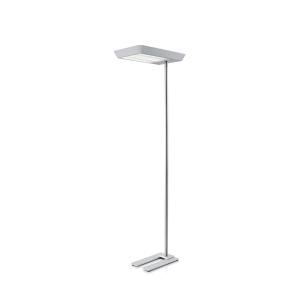 LED-Stehleuchte Hansa Maxlight Pro, silber