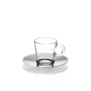 NESPRESSO VIEW Espresso Untertasse, Packung à 12 Stück