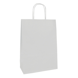 Tragtasche Clairefontaine, 180 x 70 x 240 mm, weiss, Pack à 25 Stk.