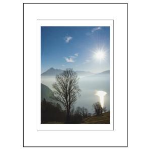 Doppelkarte Art Bula, Trauer, 130x180 mm, blanko