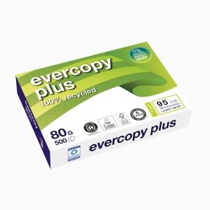 Kopierpapier Evercopy Plus A4, 80 g/m2, Packung à 500 Blatt