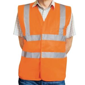 Warnschutzweste Eskon, Klasse 2, Typ EN20471, Grösse XXL, orange