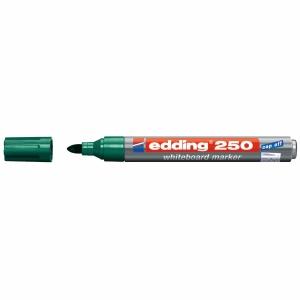 Whiteboard Marker Edding 250, Rundspitze, Strichbreite 1,5-3 mm, grün