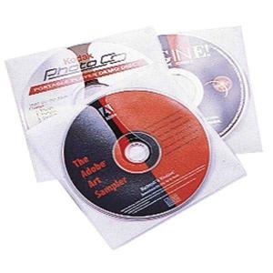 CD/DVD Hülle Durable, für 1 CD/DVD, weiss/transparent, Packung à 10 Stück