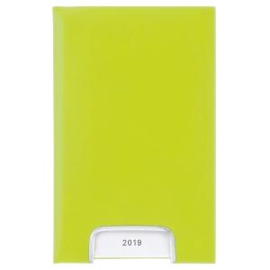 Taschenplaner Biella Disponent 807401, 1 Tag pro Seite, Kunstleder, grün