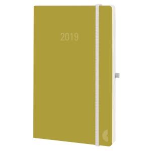 Taschenplaner Chronoplan Softcover 50798, 1 Woche auf 2 Seiten, olive