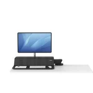 Sitz-Steh Workstation Lotus™ RT, schwarz