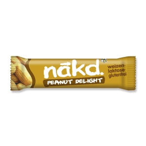 Riegel Nakd Peanut Delight, 35 g, Packung à 18 Riegel