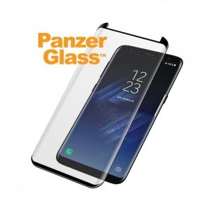 Displayschutz Panzerglass 7122, Galaxy S8, schwarz