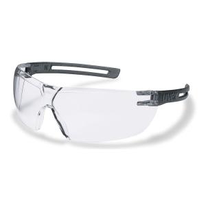 Schutzbrille uvex X-Fit 9199, Filtertyp 2C, grau/transparent, Scheibe klar