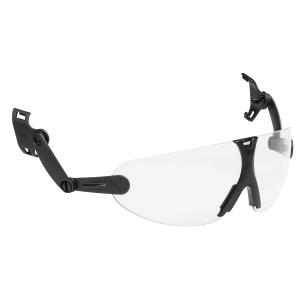Integrierbare Schutzbrille 3M V9C, Filtertyp 2C, schwarz, Scheibe klar