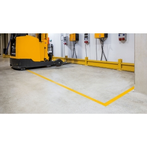 Bodenmarkierungsband Strong Durable, 50 mm x 1,2 mm x30 m, gelb