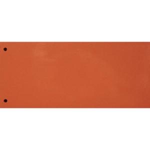 Trennstreifen Exacompta 13465B 240x105 mm, Karton 190 g/m2, orange Pk. à 100Stk.