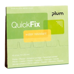 Nachfüllpflaster wasserfest QuickFix, Packung à 45 Stück