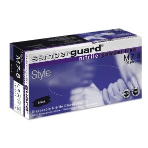 Einweghandschuhe Semperguard Style Nitril, Gr. L, Packung à 100 Stück