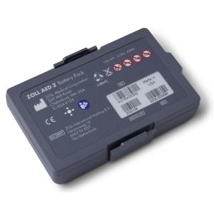 Lithium Mangandioxid Batterie zu ZOLL AED 3, Haltbarkeit 5 Jahre, 140 Schocks
