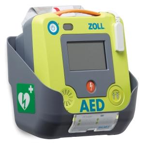 Wandhalterung zu ZOLL AED 3, grau