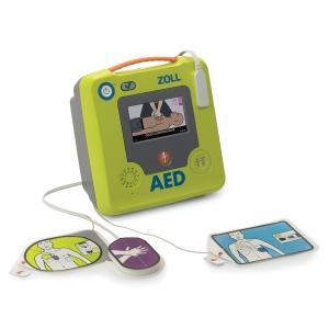 Defibrillator ZOLL AED 3, LCD Farbdisplay, französische Anleitung