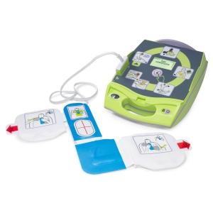 Defibrillator AED Plus Zoll komplett, EKG Anzeige, französsiche Anleitung