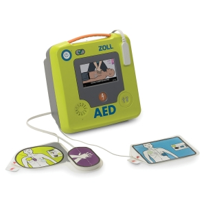 Defibrillator ZOLL AED 3, Ansage in deutsch