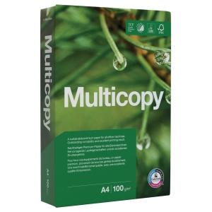 Kopierpapier Multicopy A4, 100 g/m2, FSC, Packung à 500 Blatt