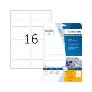 Namensetiketten Herma, A4, Packung à 320 Stück