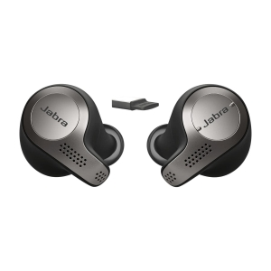Headset Jabra Evolve 6ST MS, kabellos, schwarz/grau
