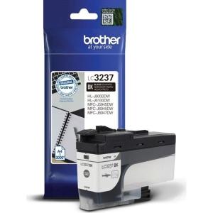 Tintenpatrone BROTHER LC-3237BK, 3000 Seiten, schwarz