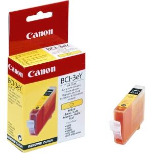 Tintenpatrone CANON BCI-3eY, BJC-6000,  390 Seiten, yellow