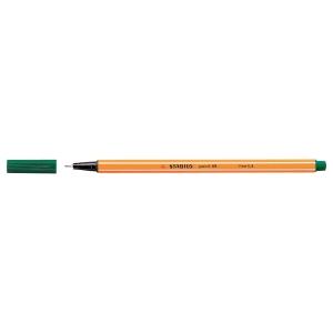 Feinschreiber Stabilo Point 88, Strichbreite 0,4 mm, grün