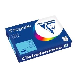 Kopierpapier Trophee 1105 A4, 160 g/m2, blau, Packung à 250 Blatt