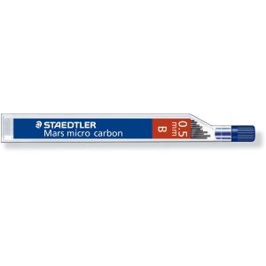 Bleistiftminen Staedtler Mars Micro Carbon 250, 0,5 mm, B, Dose à 12 Minen