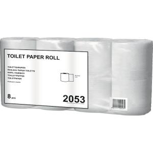 Toilettenpapier Tork 12134, 2-lagig, naturweiss, Pk. à 64 Rollen (8x8 Rollen)