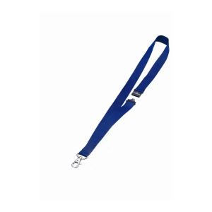 Textilbänder Durable 8137-07, 44 cm, mit Sicherheitsversch., blau, Pk. à 10 Stk.