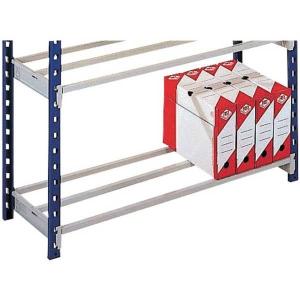 Gitterboden Lagerregal Paperflow 5132, 100x35x100 cm (BxTxH), Packung à 2 Stück