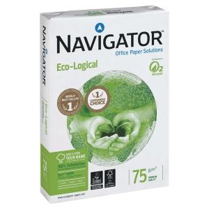 Kopierpapier Navigator Eco-logical A4, 75 g/m2, FSC, Packung à 500 Blatt