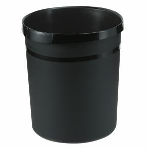 Papierkorb HAN, 18 l, Kunststoff, schwarz