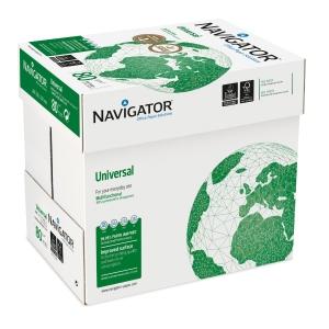 Kopierpapier Navigator Universal A4, 80 g/m2, FSC, Cleverbox à 2500 Blatt