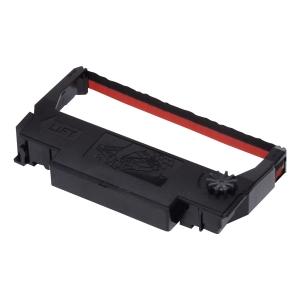 Farbband Epson ERC38, Nylon, schwarz/rot