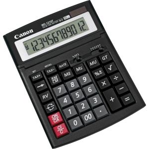 Tischrechner Canon WS-1210T, 12-stellige Anzeige, schwarz