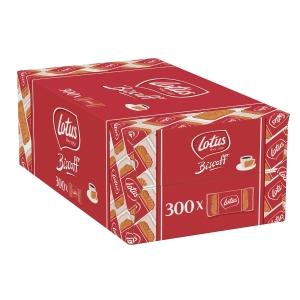 Karamellbiscuit Lotus Biscoff, einzelverpackt, Packung à 300 Stück