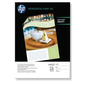 InkJet Papier HP Professional Q6592A A4, 180 g/m2, matt, PEFC, Pk. à 100 Bl.