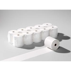 Thermopapierrollen 57x55 mm, 40 m lang, 55 g/m2, weiss, Packung à 10 Rollen