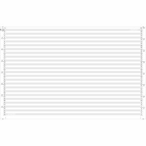 Computerpapier A4 quer, 1/6   1fach, 70 g/m2, grau, Packung à 2000 Blatt