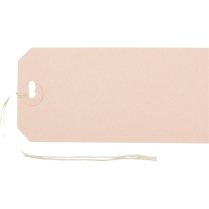 Anhänge-Etiketten Biella Manila 561130, 65x130 mm, braun, Bund à 50 Stück