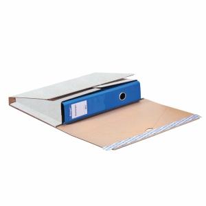 Versandhülle Ordnermail Brieger 66280, 32,1x29x0-7,5 cm, weiss