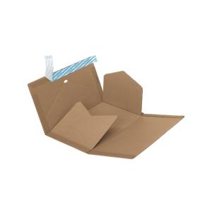 Verpackung Brieger Varifix 62/30, 32,5x25x1,5-8 cm, braun